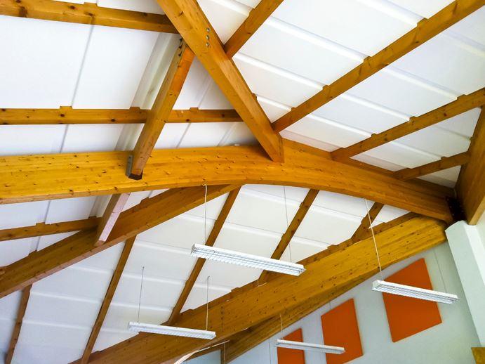 pinta plano en techo