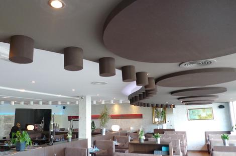 Absorber Rondo pintat Restaurant 1