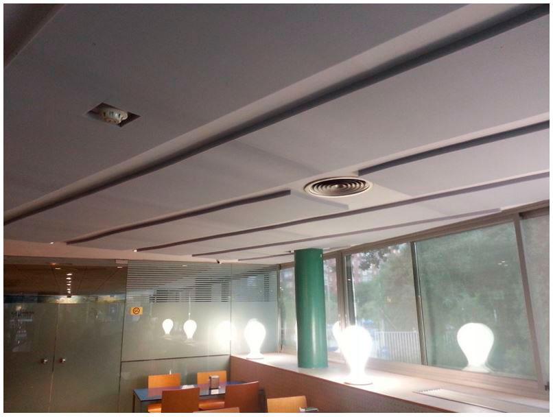productos absorbentes paneles acusticos planos