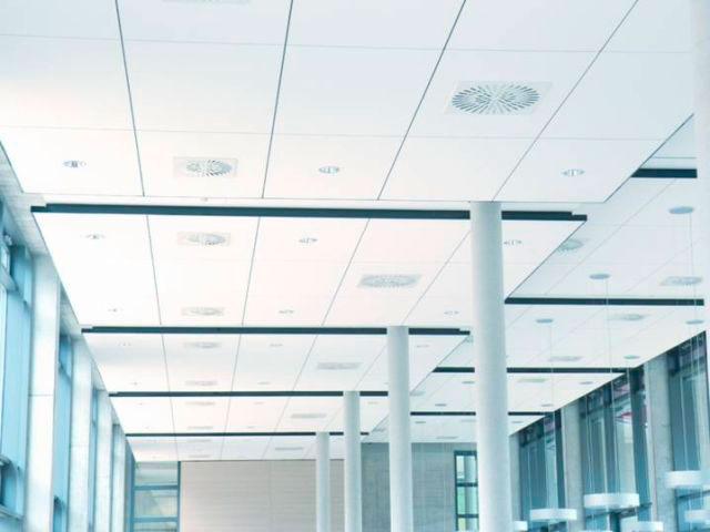 techos registrables absorbentes