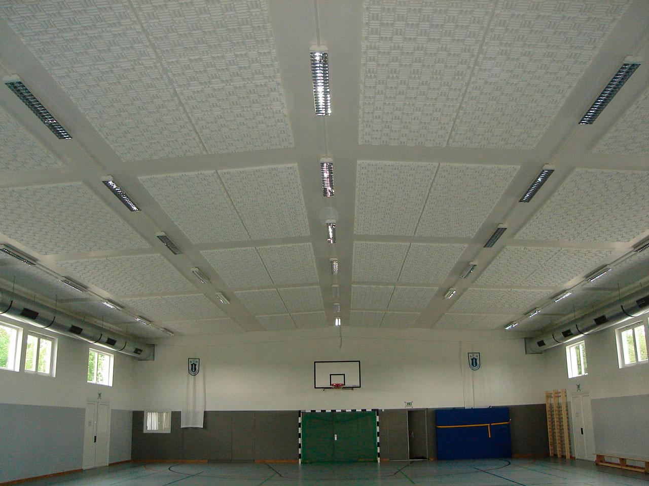 techos suspendidos productos absorbentes